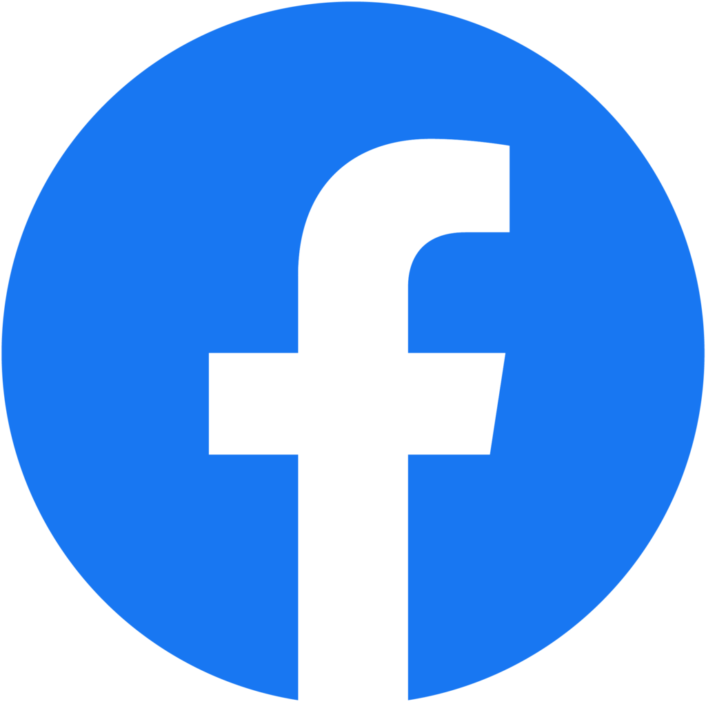 button naar Facebook-pagina